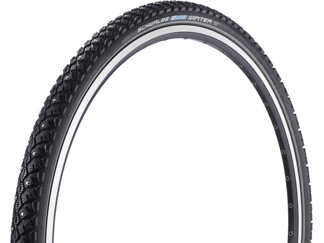 """SCHWALBE Winter Active Line Clincher Tyre 28"""" K-Guard, black-reflex"""